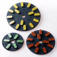 Resin bond grinding disc for stones
