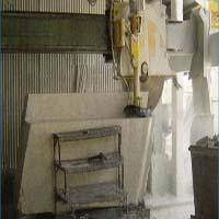 Diamond horizontal cutting blade for stones