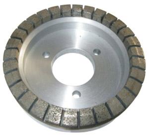 Metal bond diamond wheel for double edging machine