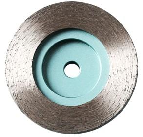 Continuous rim diamond grinding wheel