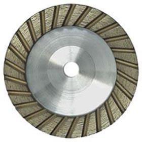 Straight turbo diamond grinding wheel
