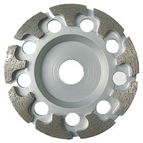 T segment diamond grinding cup wheel