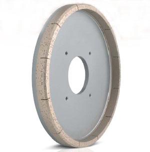 Metal bond diamond chamfering wheels