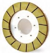 Resin bond diamond squaring wheels