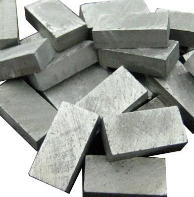 Diamond gang saw segments